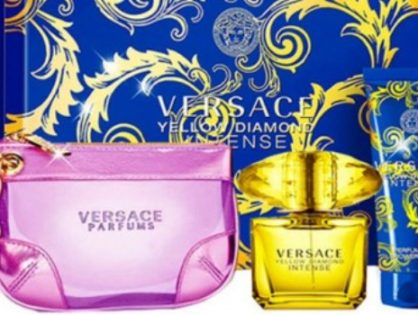 Que porte le coffret versace yellow diamond intense?
